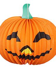 hallowmas 1pc lampe de citrouille décorer hallowmas fête costumée