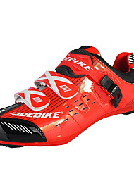 boodun Cycling Shoes Women's Mountain Bike / Road Bike Closed Toe Anti-Slip / Wearproof / Breathable Red