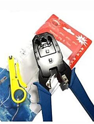 Dual-Use Network Pliers YB-315 Network Crimping Pliers RJ45 Network Pliers With Three Pliers