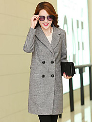 Women's Simple Coat Long Sleeve