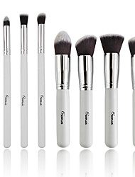 8pcs Makeup Brushes Set Synthetic Hair Professional / Portable Wood Face / Eye / Lip