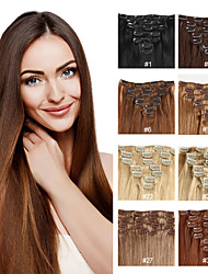 Human Hair Extensions Human Hair 70-120 16,18,20,22 Hair Extension