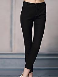 Pantaloni Da donna Skinny Semplice Poliestere / Nylon / Elastene Anelastico