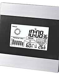 Multi-function Electronic Clock With Backlit Weather Forecast