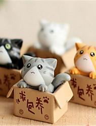 Meaty Plant Moss Micro Landscape Furnishing Articles Seeking Arrangement Private Cat Kitten DIY Craft Decoration Materials