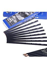 Senior Mali Student Pencil Art Sketch Test CharcoalA Pack of 10Length 17.8CM