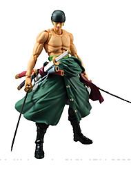 One Piece Roronoa Zoro PVC 15*10*20cm Anime Action Figures Model Toys Doll Toy