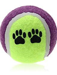 Hunde Haustierspielsachen Kugel Dog Gelb Gewebe