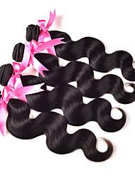 Перуанская волна волос тела 100 г / штука 8a для наращивания волос 4 пучки человеческого волоса