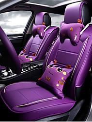 Cartoon 3D Fiber Leather Car Cushion