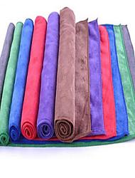 épaissie poncé serviette en microfibre fournitures absorbant lavage serviette en tissu de nettoyage de cheveux au large