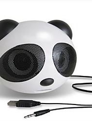 panda mignon mini haut-parleur subwoofer voiture de bande dessinée audio