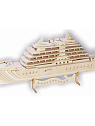 Luxury Cruise Wood Diy Three-dimensional Simulation Model of Educational Toys