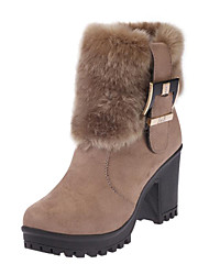 Women's Boots Fall / Winter Snow Boots /  Motorcycle Boots / Bootie / Gladiator / Comfort / Novelty Leather