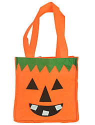 Cosplay Halloween Children Adult Cartoon Animal Pumpkin Cat Printing Candy Gift Handbag Purses