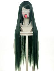 100 centímetros Harukanaru Toki no Nakade Abeno Yasuaki estrela da sorte verde longa reta do dia das bruxas perucas perucas traje perucas