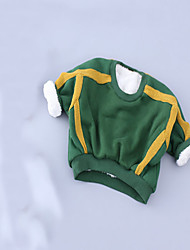 Girl's Casual/Daily Solid Hoodie & SweatshirtCotton Spring / Fall Green