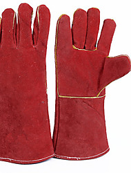 Electricity Protection Gloves  Color  Red