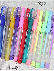 Color Fluorescent Pen 12 Color(12PCS)