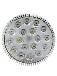 e27 18w 1080-1440lm (2white + 2orange + + 4blue 10red) spot LED usine d'ampoule élèvent la lumière (85-265V)