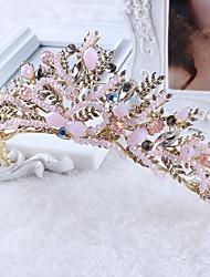 Women's Rhinestone / Imitation Pearl Headpiece-Wedding / Special Occasion / Casual Tiaras  1 Piece