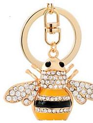 пчелиный брелок автомобиля дамы сумку украшения кулон подарок