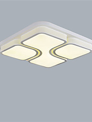 Square Modern Style Simplicity Acrylic LED Ceiling Lamp Flush Mount Living Room Dining Room Bedroom light Fixture