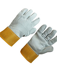 Comfortable Leather Heat Proof Heat Insulation Welding Gloves