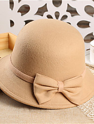 Women Tweed Fedora Hat,Party Spring / Fall / Winter