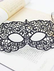 1pc bourgeon masque de soie pour costume de halloween couleur aléatoire