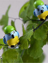 Moss Micro - Landscape Ornaments And More Meat Plant Ornaments Decorative Mini - Parrot Birds DIY Materials