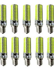 6 E12 Lâmpadas Espiga Tubo 80 SMD 5730 360 lm Branco Quente / Branco Frio Decorativa AC 110-130 V 10 pçs
