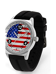 GT World Racing Sports Men's Wristwatch Women's Fashion British Campus Silicone Strap Quartz Watch