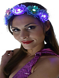 Light Up Led Flower Headband Led Light Headwear Daisy Headband Halloween Christmas Holiday Items Gift Idea