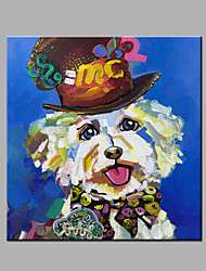 Hand-Painted Abstract / Animal 100% Hang-Painted Oil PaintingModern One Panel Canvas Oil Painting For Home Decoration