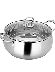 Food Grade Cooking Pot Cookware  Stainless Steel Cookware 20cm