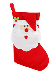 Large Christmas Stocking Christmas Decorations Christmas Child Gift Bag Candy Bags Socks Christmas Tree Ornaments
