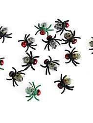 balle 3pcs Halloween pour la décoration de fête cadeau costume de fête prop ornements de fantaisie couleur aléatoire