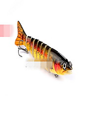 Section 12.3 cm17g bionic way more than 8 knots bait fish bait monochrome plastic bait