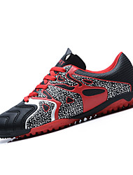 Men's Athletic Shoes Spring / Summer / Fall / WinterPU Athletic  Lace-up Green / Black and Red / Orange Soccer