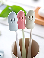 Rubber Smiley Toothbrush Protective Cover