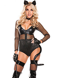 Sexy Midnight Cat Costume
