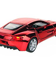 Action Figure / The Aston Martin version of the 132 plating alloy car models toys back door light