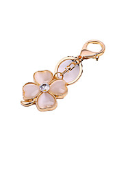 Clover Car Key Ring (Note Gold)