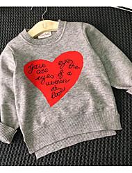 Boy's Casual/Daily Print Sweater & Cardigan / Hoodie & SweatshirtAcrylic Spring / Fall Black / Gray