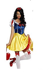 Party Dress/Cosplay Costume Snow Princess Costume Carnival/Halloween Cosplay Costumes For Women Cartoon Princess Snow Princess Cosplay Plus Size