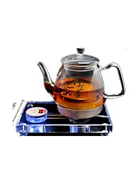 Intelligent Tea Cooker Crystal Health Pot Glass Electric Kettle Boil Black Tea Kettle
