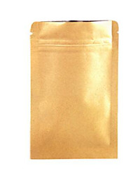 The Tea Bag Kraft Paper Window Nuts Food Packaging Bag Kraft Paper Self Sealing Bag