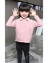Girl's Casual/Daily Solid Sweater & CardiganWool Winter / Spring / Fall Blue / Pink