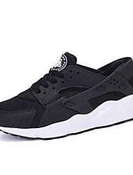 Masculino-Tênis-MaryJane-Rasteiro-Preto Branco Preto e Vermelho Preto e Branco-Tecido Couro Ecológico-Casual